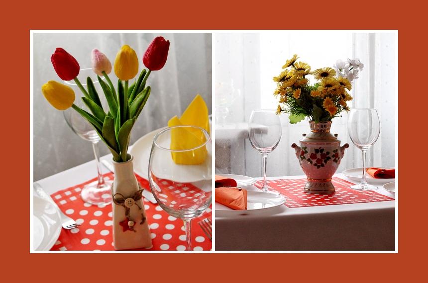 Deko Idee Geburtstag Tulpen