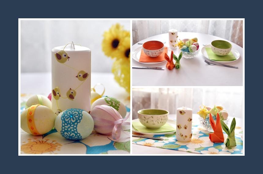 Deko Idee Ostern Ostereier Tischdeko
