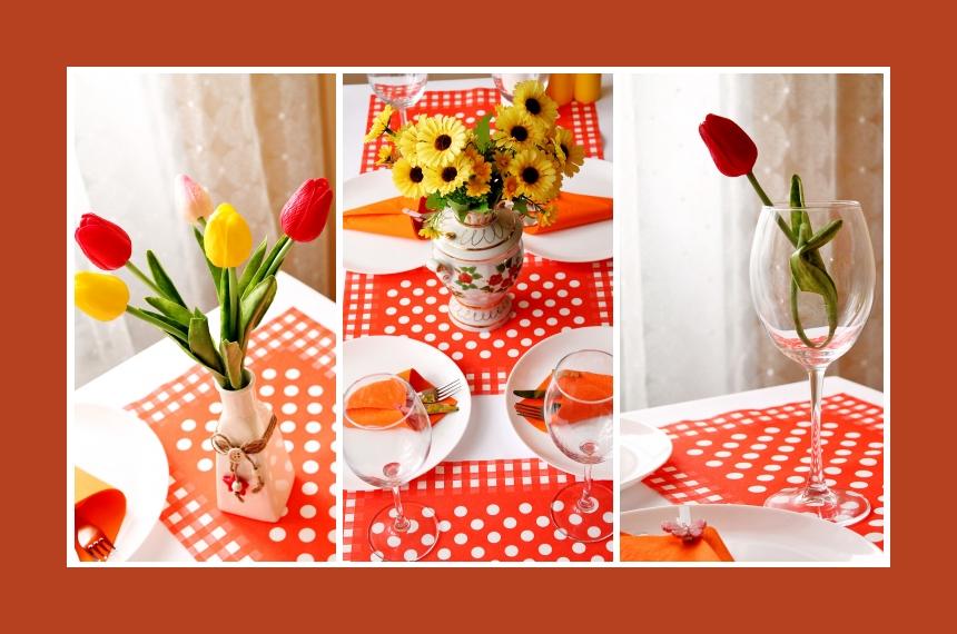 Deko Idee Tischdeko Tulpen Geburtstag